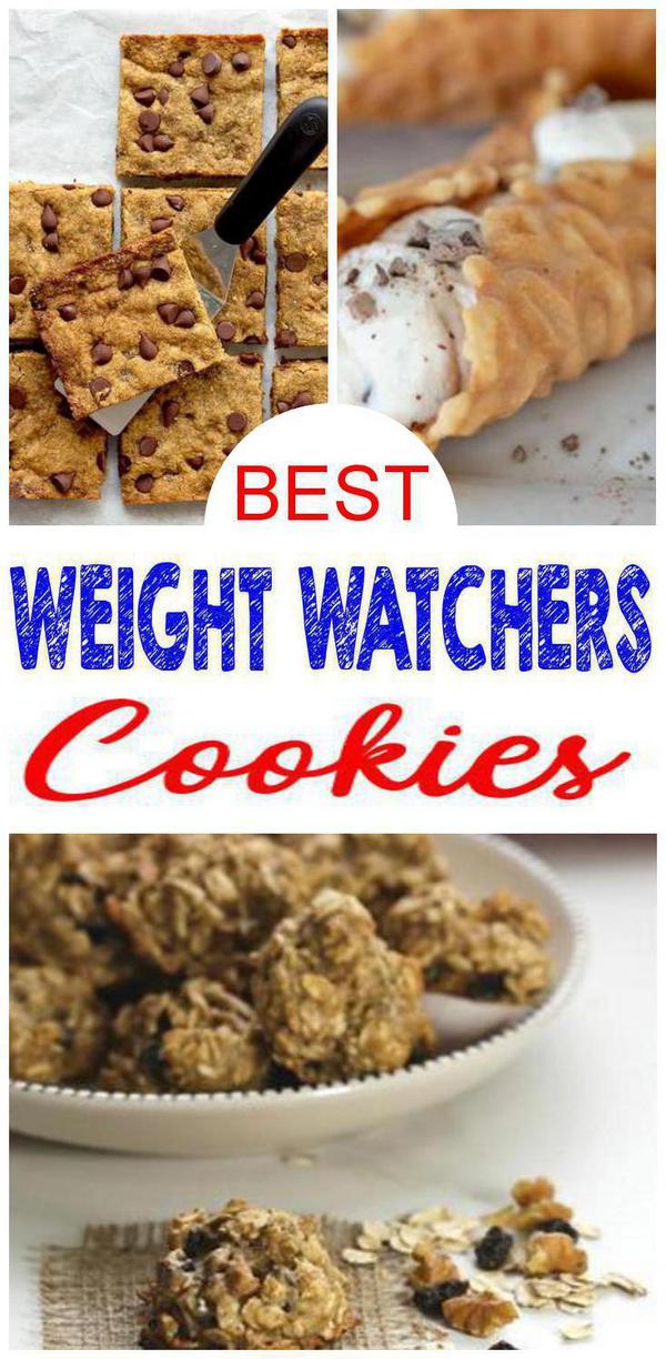 Weight Watchers Cookies – BEST Weight Watchers Cookie Recipes – Easy WW Diet Ideas