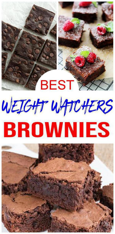 Weight Watchers Brownies – BEST WW Brownie Recipes – Easy Weight Watchers Diet Ideas