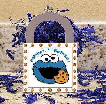 Cookie Monster Treat Boxes