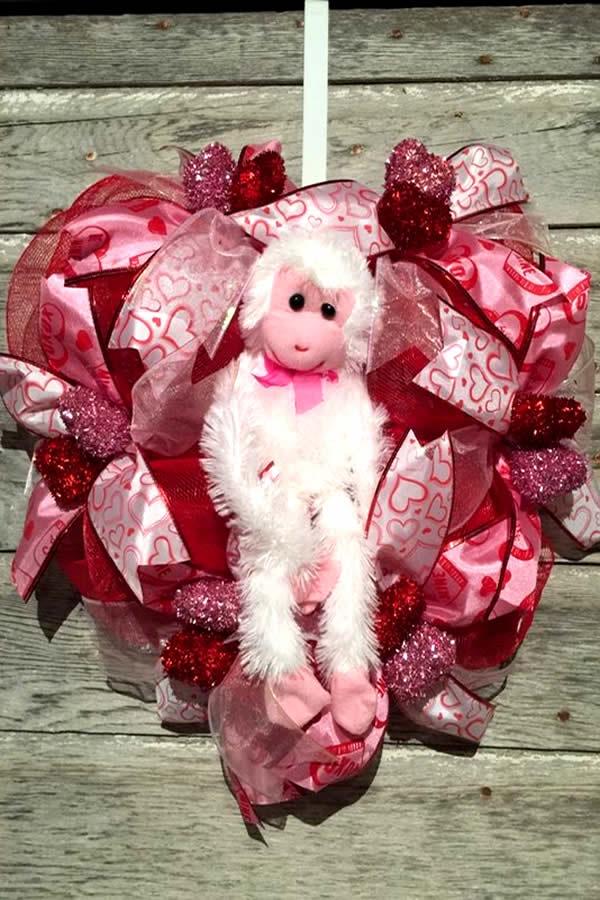 diy dollar store hack - easy valentine wreath