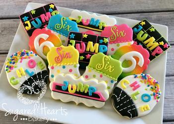 Trampoline Cookie Favors