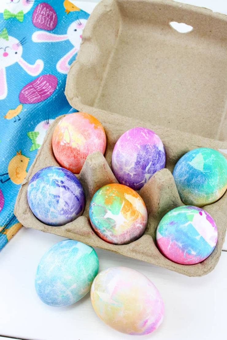 Best Dyed Easter Eggs How To Dye Easter Eggs Easy Diy Easter