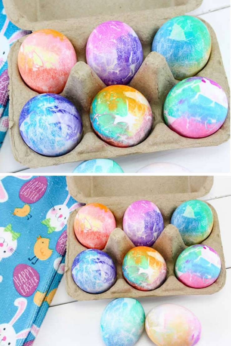 BEST Dyed Easter Eggs! How To Dye Easter Eggs - EASY DIY Easter Egg Decorating Ideas Kids Will Love