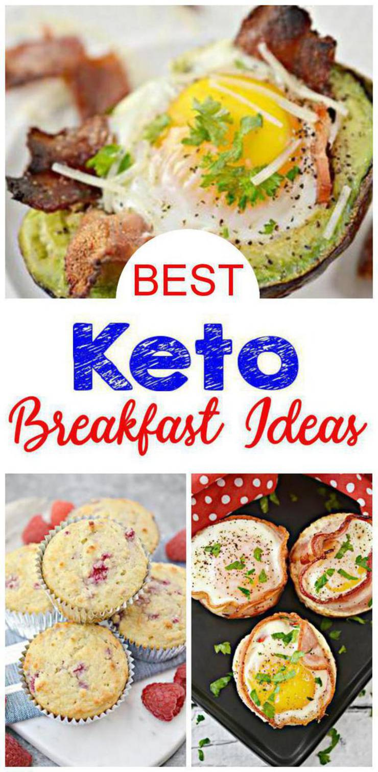 Keto Breakfast- BEST Keto Breakfast Recipes – Easy Low Carb Ketogenic Diet Ideas