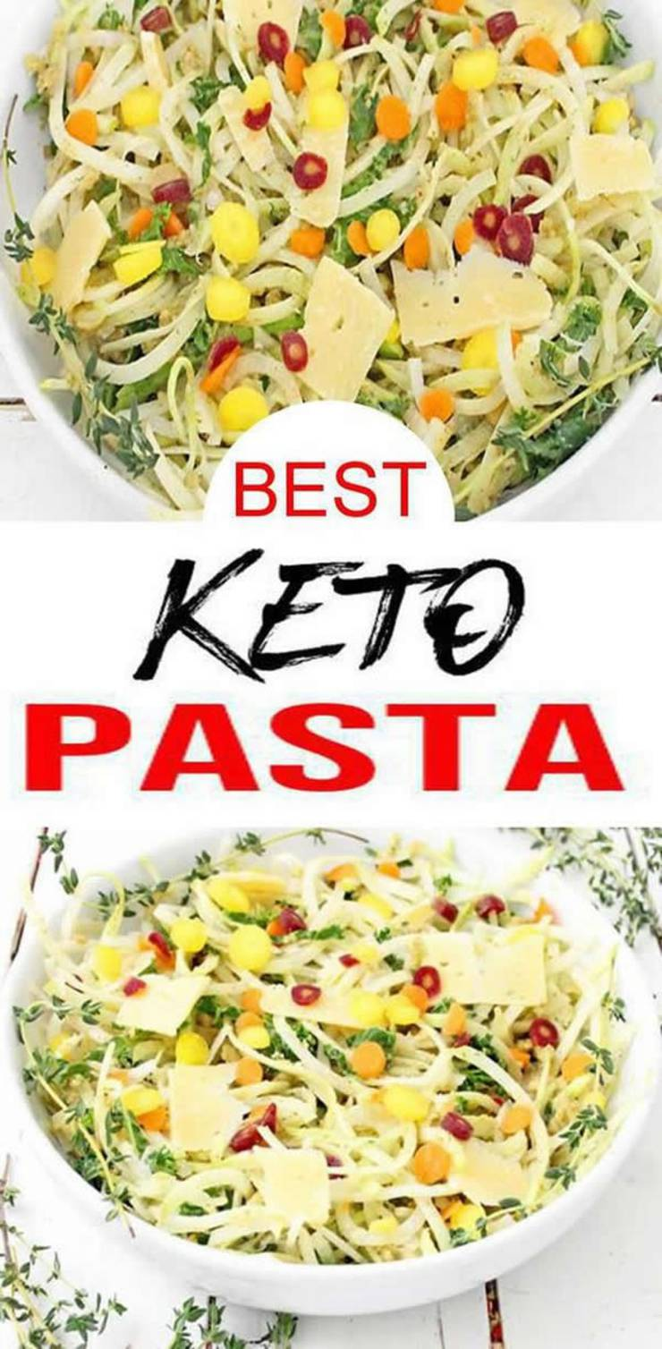 Keto Pasta _ Low Carb Noodles