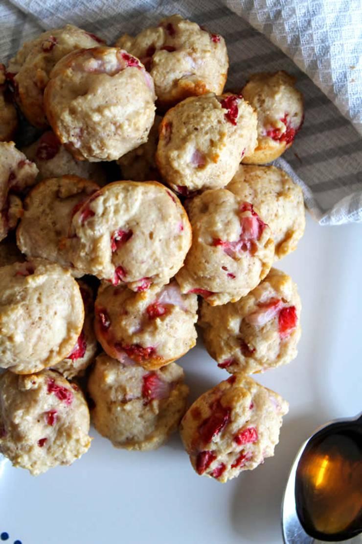 Weight Watchers Strawberry Pancake Bites - BEST WW Recipe - Breakfast - Treat - Snack with Smart Points