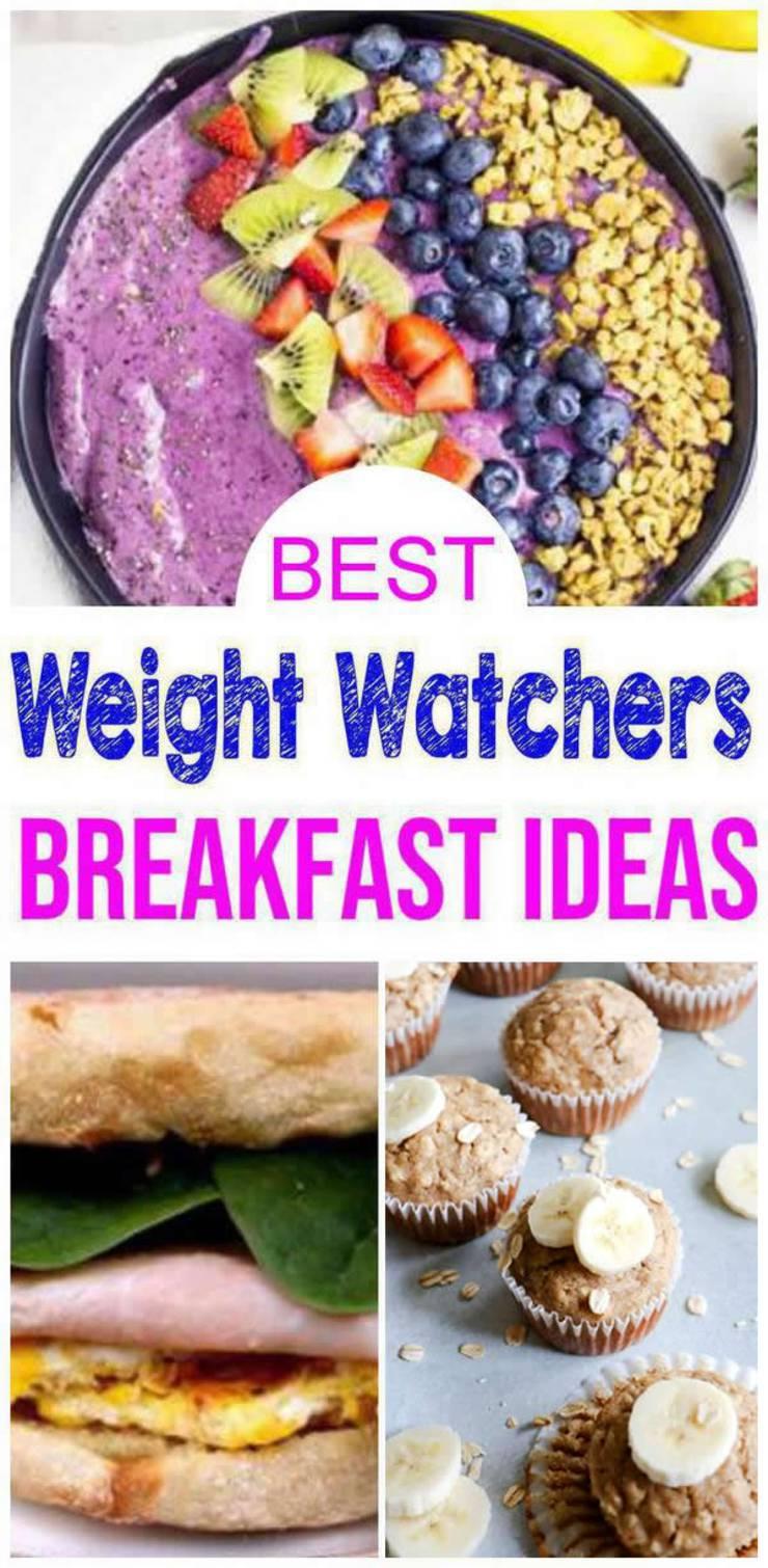Weight Watchers Breakfast- BEST WW Breakfast Recipes – Easy Weight Watchers Diet Ideas