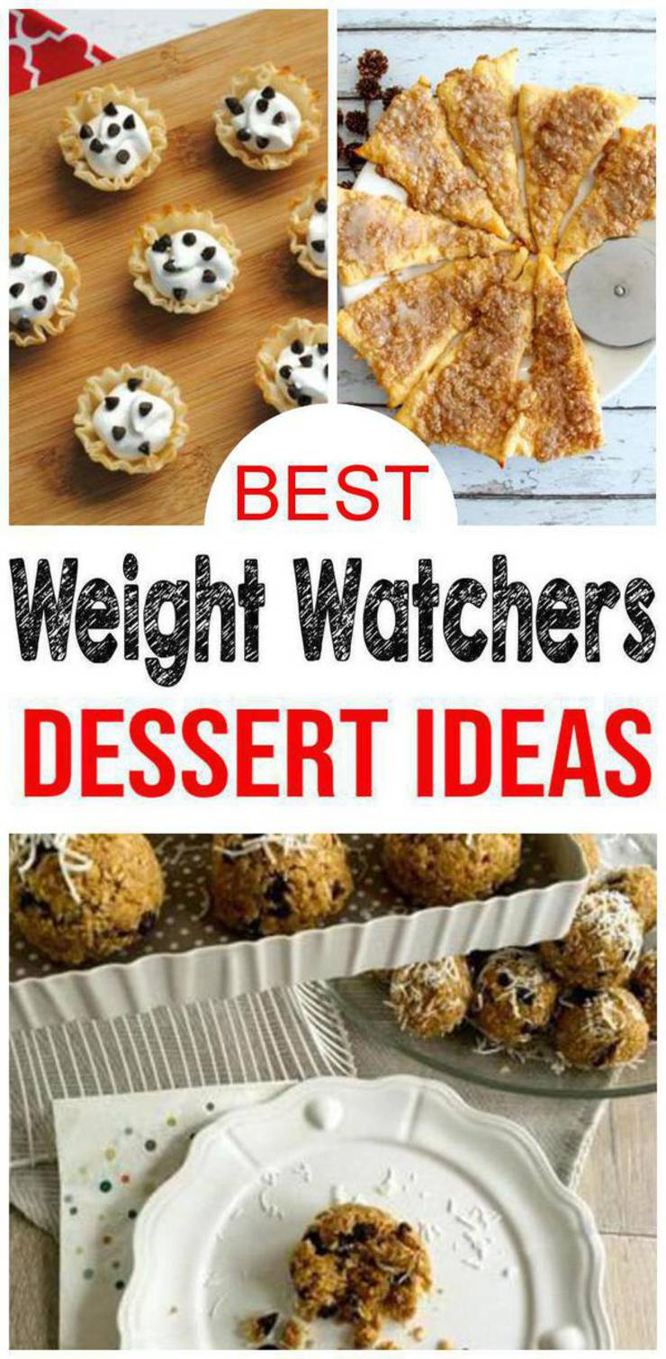 Weight Watchers Desserts- BEST WW Dessert Recipes – Easy Weight Watchers Diet Ideas
