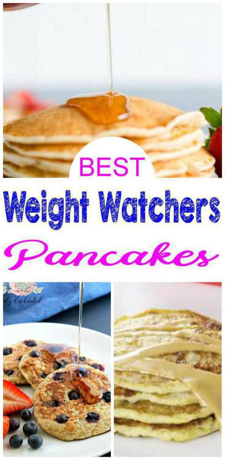 Weight Watchers Pancakes- BEST WW Pancake Recipes – Easy Weight Watchers Diet Ideas