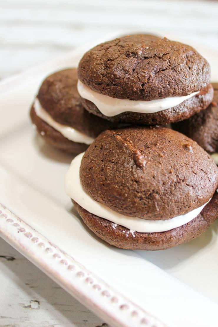 Weight Watchers Chocolate Whoopie Pies – BEST WW Recipe – Dessert – Treat – Snack with Smart Points