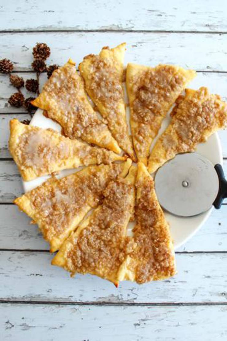 Weight Watchers Cinnamon Sugar Pizza