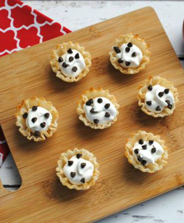 Weight Watchers Mini Chocolate Chip Cheesecakes