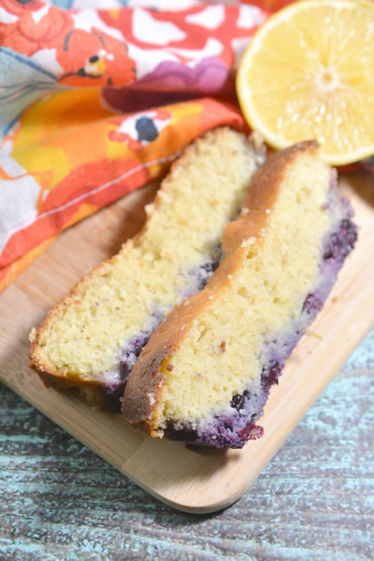 BEST Keto Bread_Low Carb Lemon Blueberry Loaf Bread Idea_Quick and Easy Ketogenic Diet Recipe_Completely Keto Friendly_Gluten Free_Sugar Free