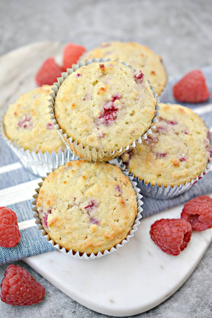 BEST Keto Muffins_Low Carb Raspberry Muffin Idea_Quick_Easy Ketogenic Diet Recipe_Completely Keto Friendly_Sugar Free_Gluten Free