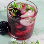 Alcoholic Drinks - BEST Blackberry Margarita Recipe - Easy and Simple On The Rocks