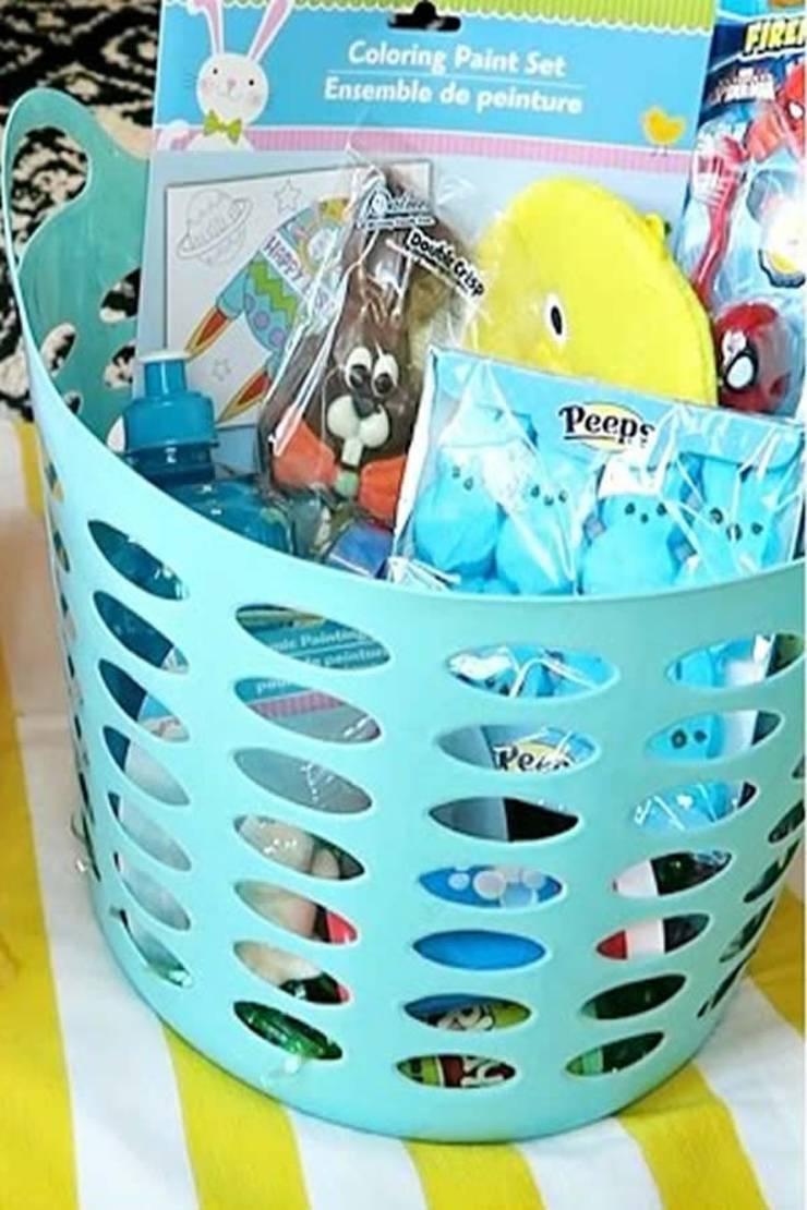 BEST Dollar Store Easter Baskets – DIY Gift Basket Ideas – Learn How