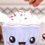 DIY Cupcake Slime - How To Make Homemade Cupcake Slime - Easy & Fun Recipe For Kids - Kids Crafts Activities - Party Favors - Kawaii Cupcake Slime Idea