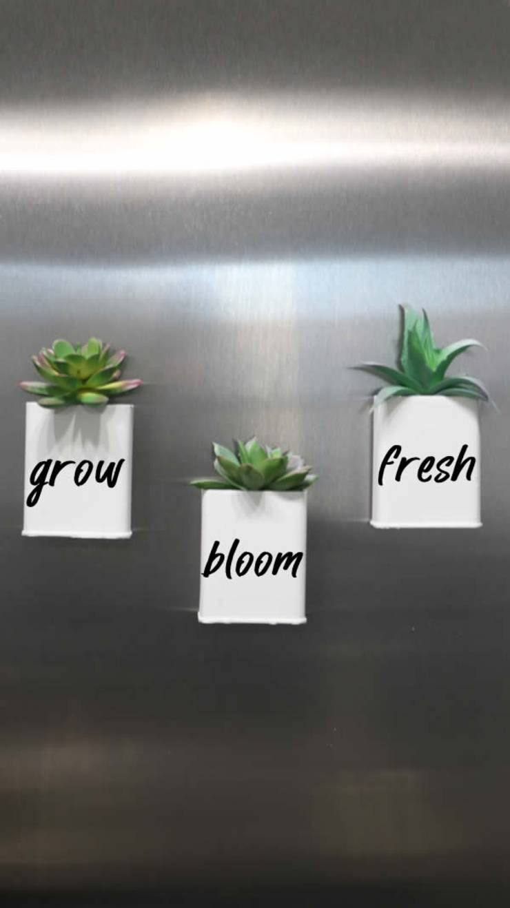 DIY Dollar Store Farmhouse Decor - Easy DIY Crafts - How To Make Farmhouse Decor - Simple Succulent DIY Projects For The Home - Dollar Tree Hacks