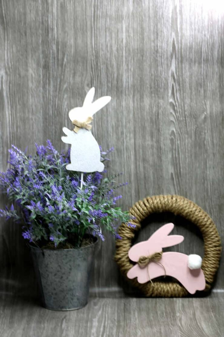 Dollar Tree Easter Wreath