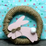 Dollar Store Easter Decorations - Easy DIY Crafts - How To Make Bunny Wreath- Simple Decor Ideas For The Home - Dollar Tree Hacks