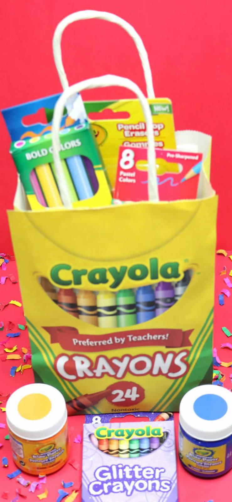 Dollar Store Party Favors! BEST Kids DIY Party Favors - Easy - Awesome and Fun Crayola Favor Bags - Birthday Party Ideas - Dollar Store Hacks