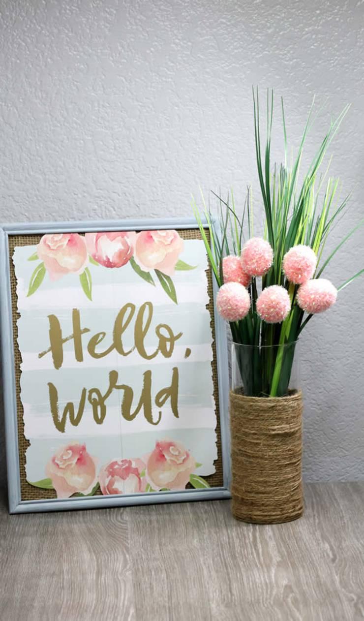 Vase Decorating Ideas Diy Kids