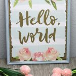 Dollar Store Spring Decor – Easy DIY Crafts – Simple Decoration Ideas – Awesome – Fun – Dollar Tree Hacks