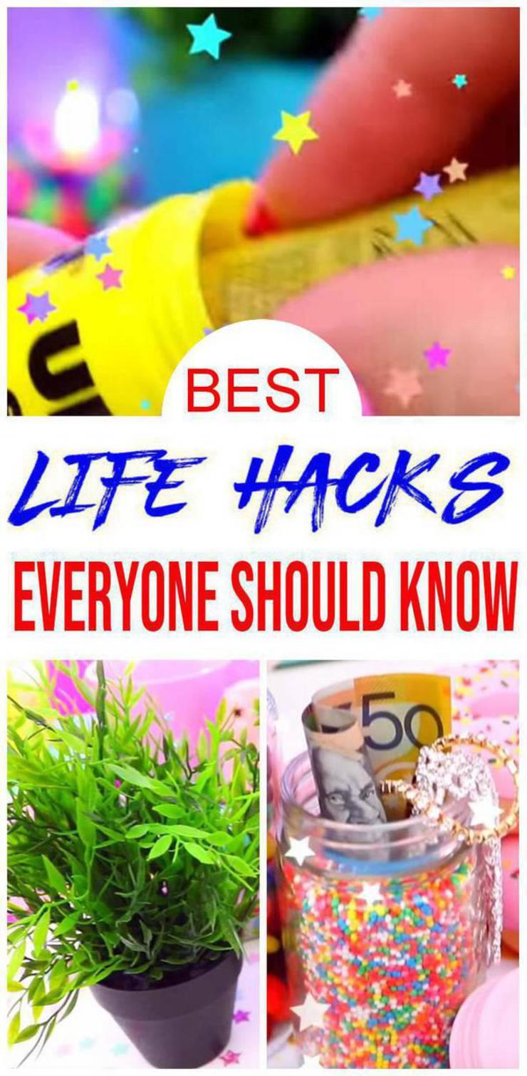 Life Hacks! Useful Life Hacks Everyone Should Know - DIY - Simple - Money and More