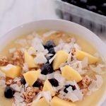 Healthy Vegan Smoothie Bowl Breakfast Food Recipes