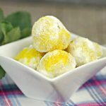 Keto Lemon Fat Bombs - BEST Lemon Cheesecake Fat Bombs - Easy NO Bake Low Carb Recipe