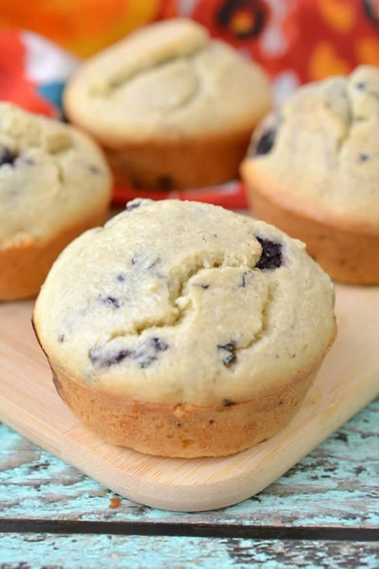 Weight Watchers Blackberry Muffins – BEST WW Recipe – Breakfast – Treat – Snack with Smart Points