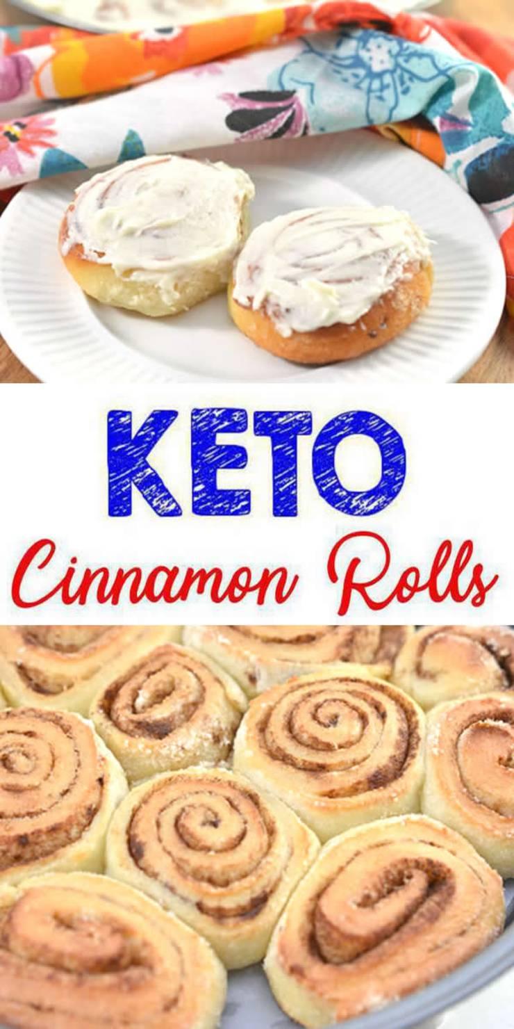 keto low carb cinnamon rolls