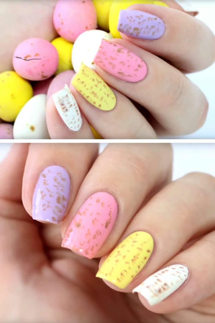 EASY Easter Nails – Simple Nail Design – Cute DIY Nail Art
