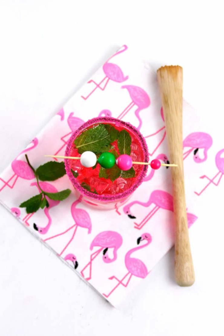 Alcoholic Drinks - BEST Mojito Recipe - Easy and Simple Bubblegum Mojito Cocktail