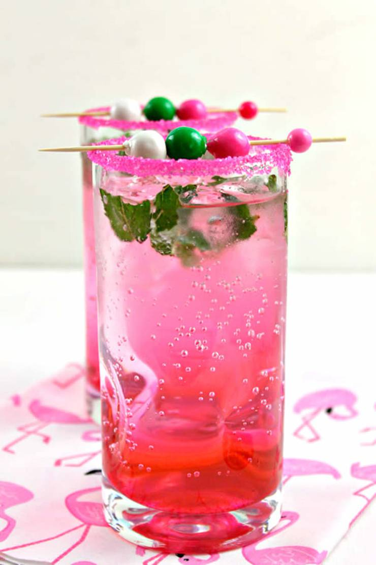Alcoholic Drinks - BEST Mojito Recipe - Easy and Simple Bubblegum Mojito Cocktail