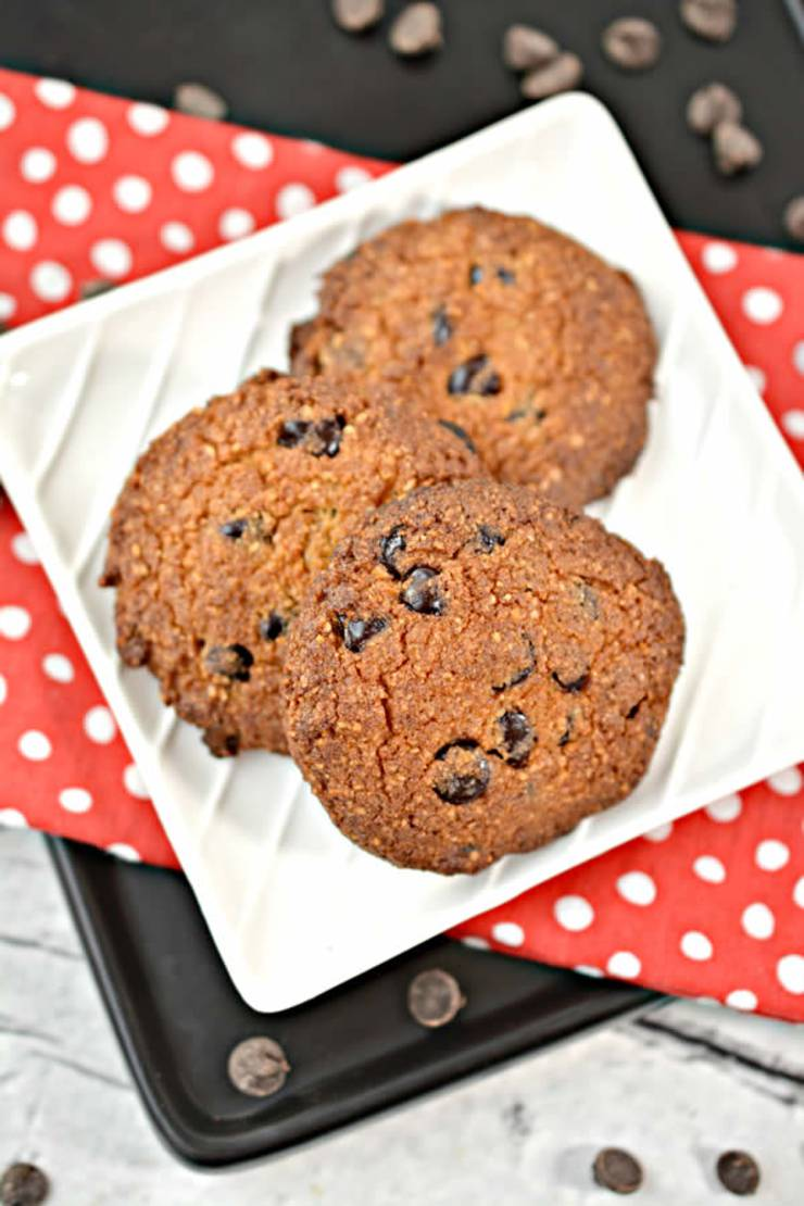BEST Keto Cookies! Low Carb Keto Chocolate Chip Cookies Idea – Sugar Free – Quick & Easy Ketogenic Diet Recipe – Completely Keto Friendly