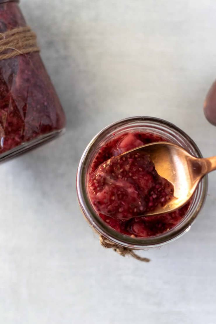 Keto Jam! Low Carb Keto Strawberry Jam Recipe - BEST Homemade Ketogenic Diet Jelly