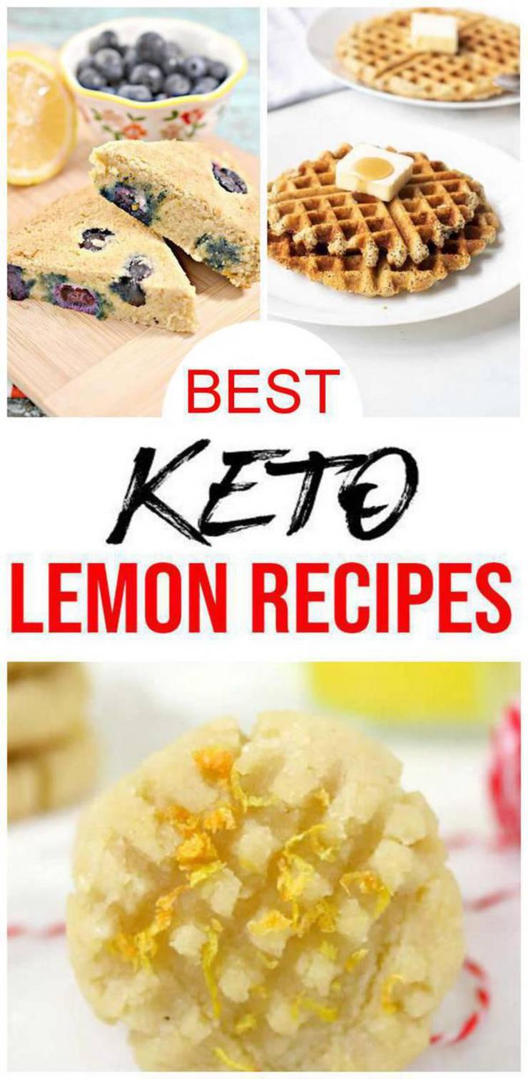 7 Keto Lemon Recipes - BEST Low Carb Lemon Ideas – Easy Ketogenic Diet Ideas