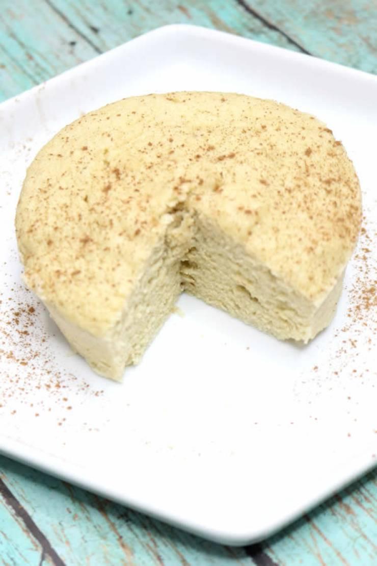 Keto Mug Cakes! Low Carb Microwave Vanilla Mug Cake Idea ...