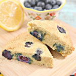 Keto Scones! Low Carb Lemon Blueberry Scone Idea – BEST Quick & Easy Ketogenic Diet Recipe – Completely Keto Friendly - Gluten Free - Sugar Free