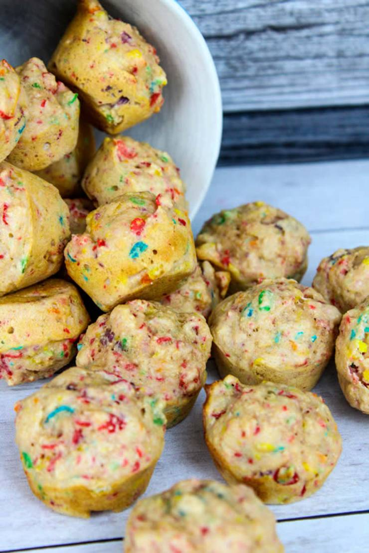 Weight Watchers Funfetti Pancake Bites - BEST WW Recipe - Breakfast - Treat - Snack with Smart Points