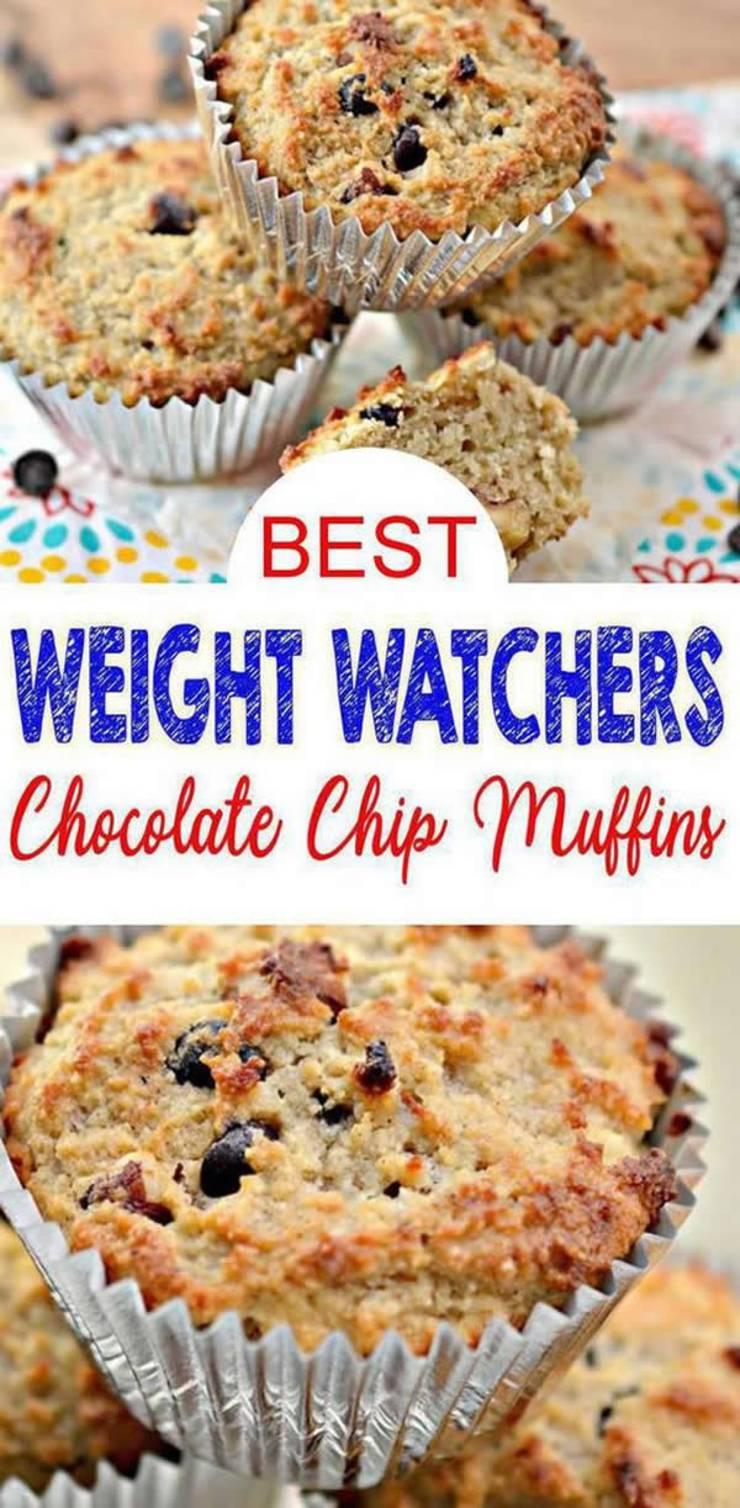 weight watchers chocolate chip muffins