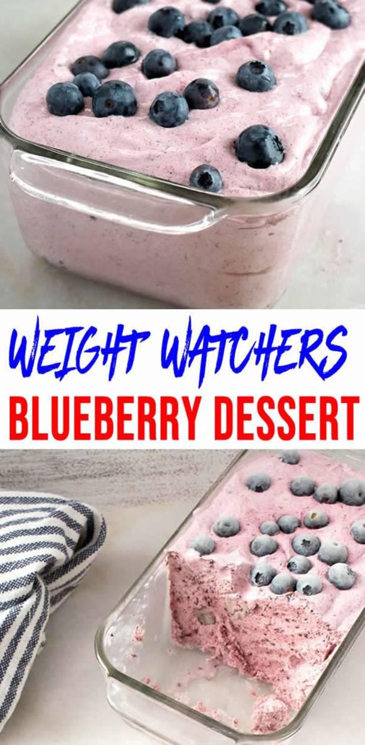 weight watchers desserts_blueberry