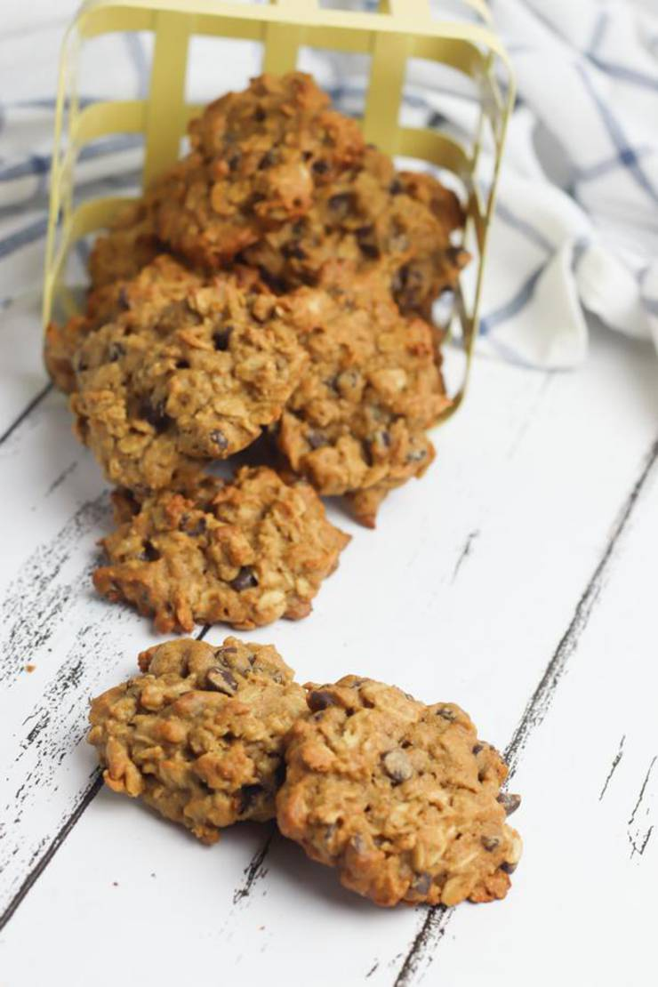 Weight Watchers Oatmeal Chocolate Chip Cookies – BEST WW Recipe – Dessert – Breakfast – Treat – Snack with Smart Points - Gluten Free