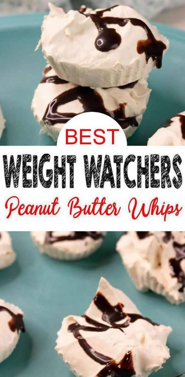 weight watchers Peanut Butter frozen whips_weight watchers desserts