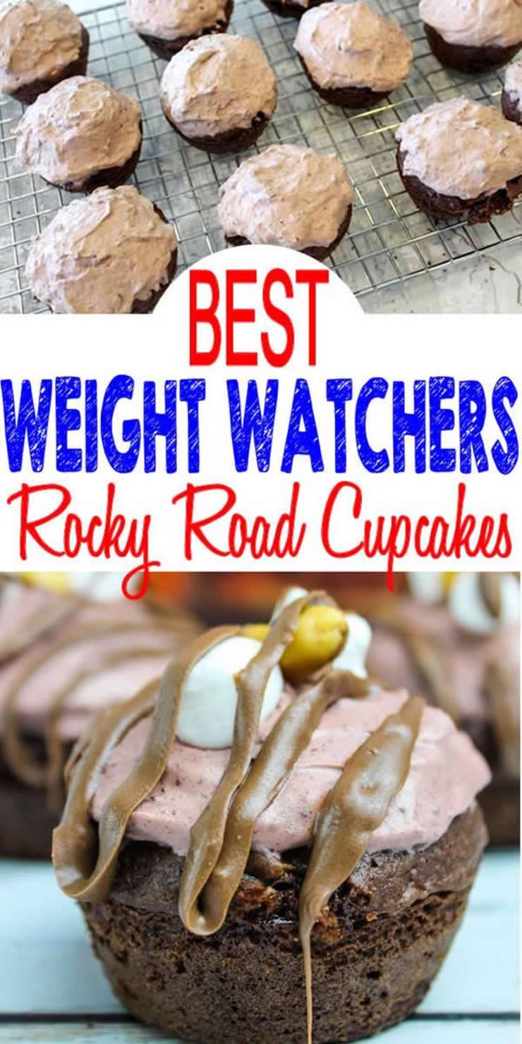 weight watchers rocky road cupcakes_weight watchers desserts
