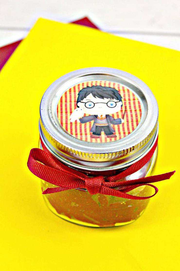 DIY Harry Potter Slime - How To Make Homemade Harry Potter Gryffindor Slime - Easy & Fun Recipe For Kids - Kids Crafts Activities - Party Favors - Slime Idea