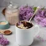 BEST Keto! Low Carb Keto Brownie In A Mug Idea – Quick & Easy Microwave Ketogenic Diet Recipe – Completely Keto Friendly Baking - Gluten Free - Sugar Free