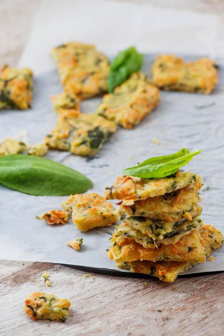 Keto Crackers – BEST Low Carb Keto Coconut Flour Cracker Recipe - Cheesy Crackers {Easy – Homemade}