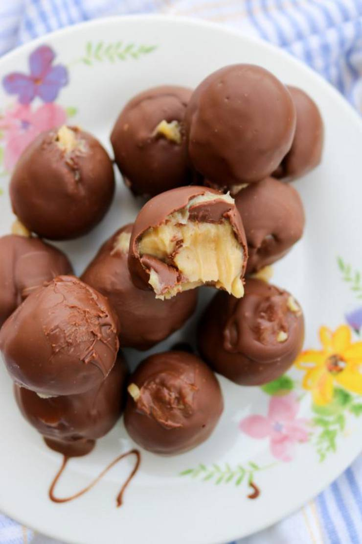5 Ingredient Keto Chocolate Fat Bombs - BEST Chocolate Peanut Butter Balls Fat Bombs - Easy NO Sugar Low Carb Recipe